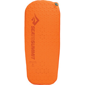 Sea to Summit UltraLight Zelfopblaasbare Mat XS, orange